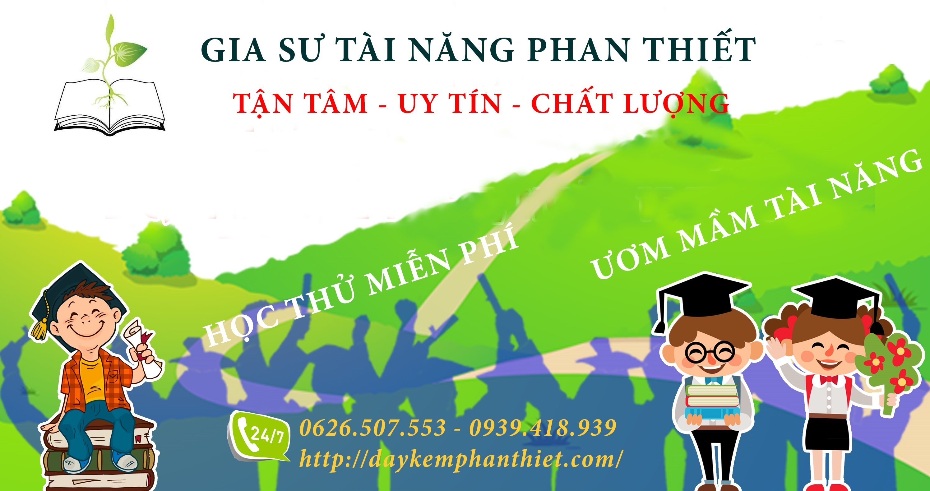 Học thử miễn phí tại gia sư Phan Thiết